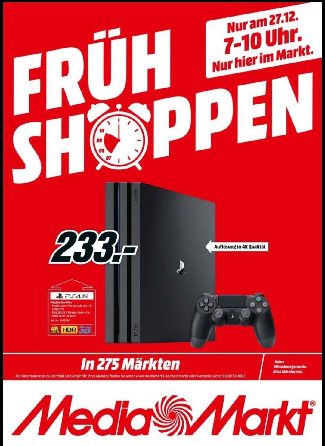 [Grensdeal] PlayStation 4 Pro 1TB @Mediamarkt DE