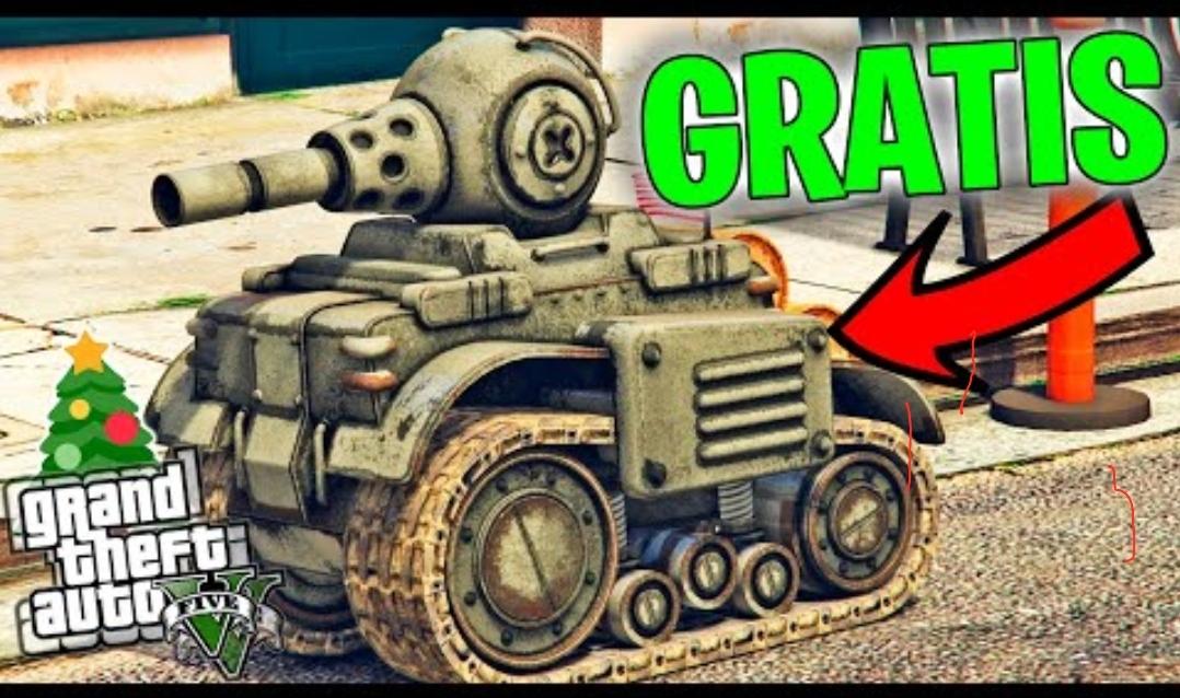 GTA online gratis RC Tank