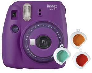 Fujifilm instax Mini 9 - Lila / Geel @Amazon.de