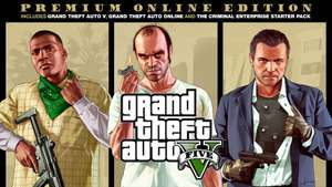 GTA V Volledige game + Criminal Enterprise Starterpack - PS4