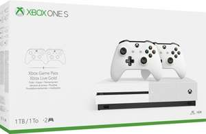 Xbox One S 1TB + 2 Wireless Controllers + 3 game-codes (ook andere bundels) @ Nedgame