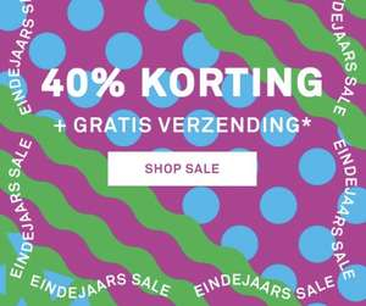 40% Eindejaarskorting Happy Socks