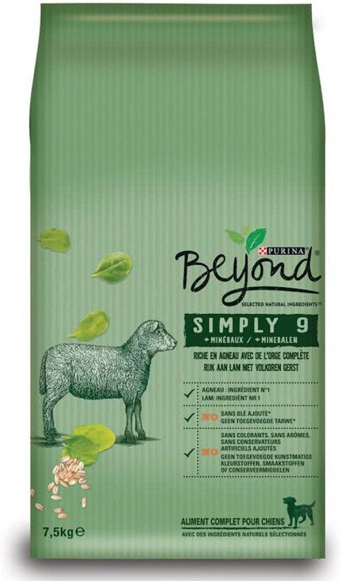 Beyond Simply 9 Lam honden droogvoer 7,5 kg voor €8,99 @ Bol.com
