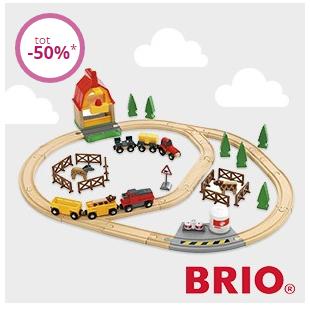BRIO houten treinen en meer - hoge korting @ Limango