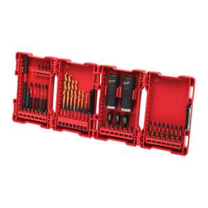 Milwaukee Bit/Boor set €29,99 62-delige