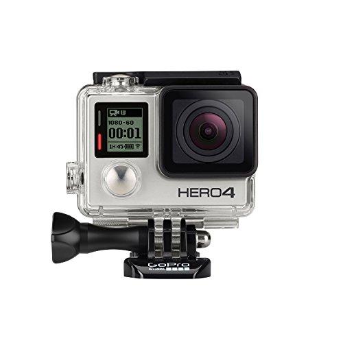 GoPro HERO4 Silver Actioncam voor € 333,- @ Amazon.de