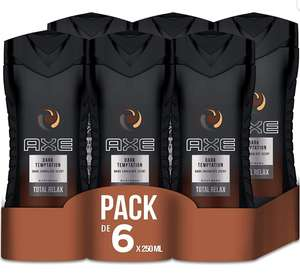 [Plus product] Axe dark temptation douche gel 6-pack @ Amazon.de
