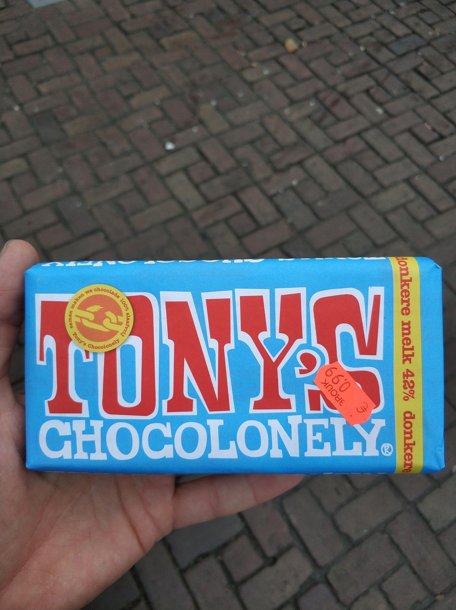[Lokaal][Haarlem] Tony's donkere melk voor 99 cent