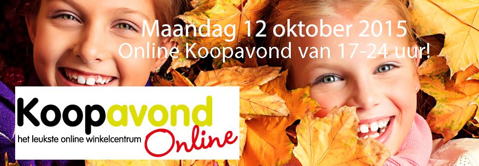 Diverse acties - o.a. EXTRA korting - bij 16 shops - vandaag 17-24 u @ Koopavondonline