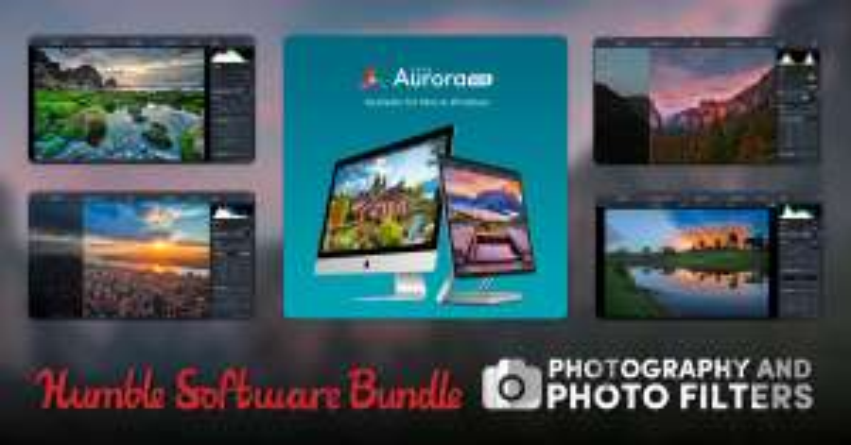 Luminar 3, Aurora HDR 2018 en andere fotosoftware @ Humble Bundle