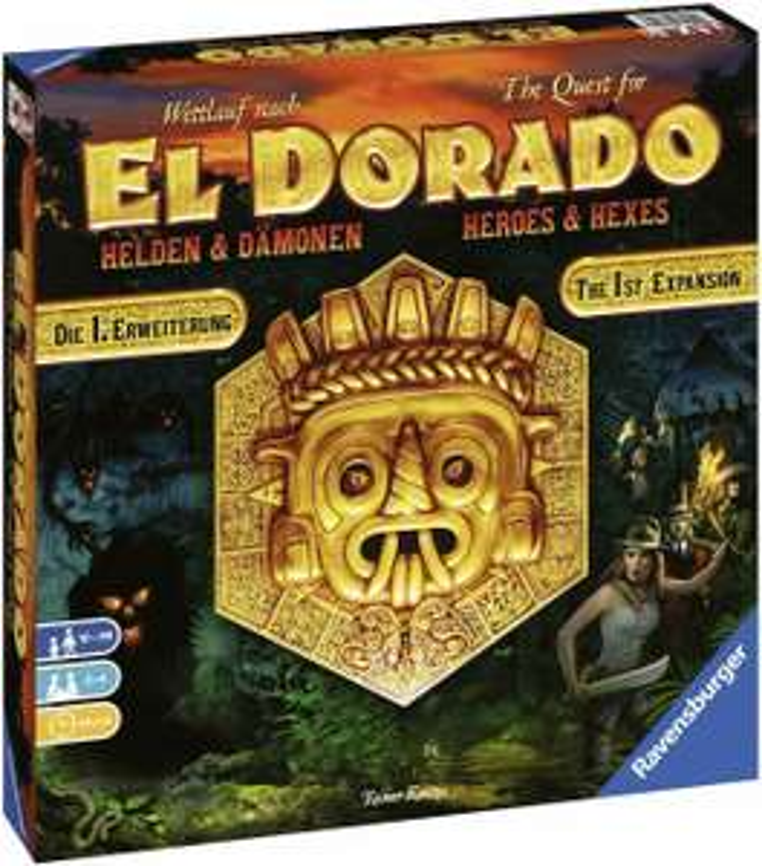 The Quest for El Dorado Uitbreiding: Heroes & Hexes