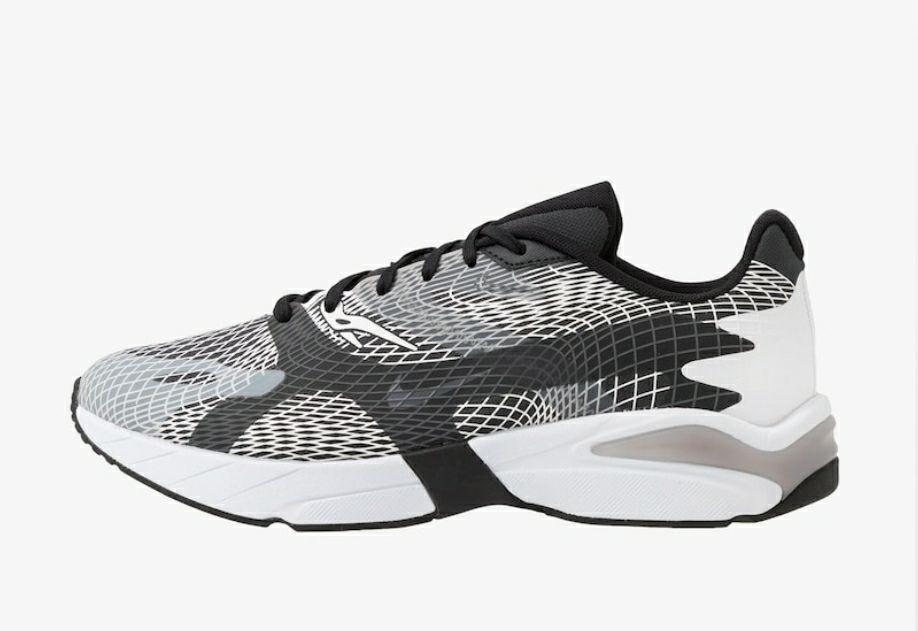 Nike Ghoswift. Herenschoenen. Zwart en Wit.