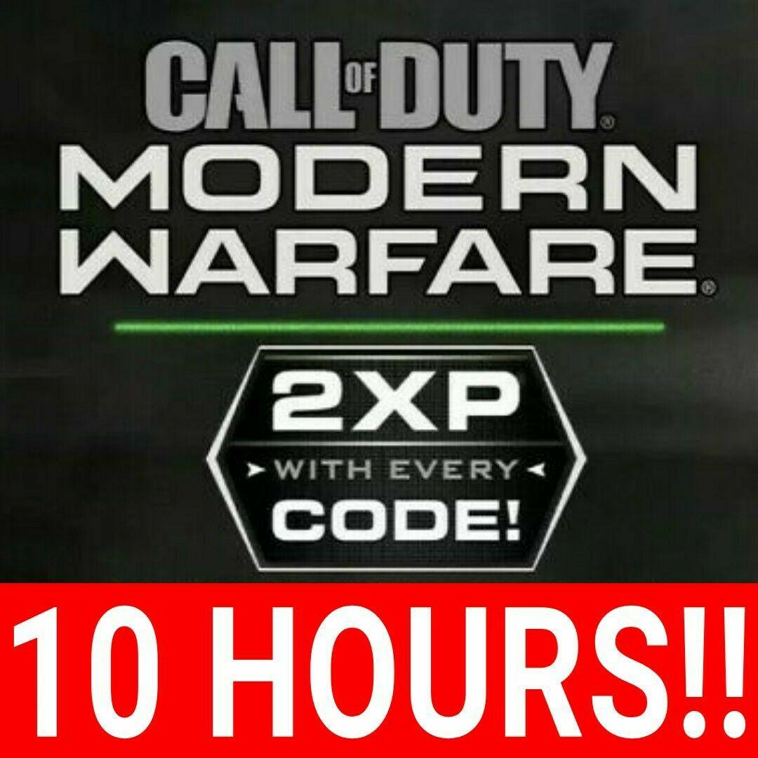 [Call of Duty MW] 10x 1uur Double XP codes (Legit! - Proof screenshots aanwezig)
