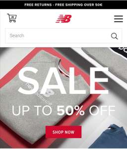 New Balance end of season sale - tot 50% korting + 15% kortingscode