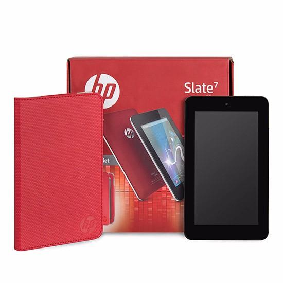 HP Slate 7 inch Tablet Bundle met originele HP Case voor €79,50 @ Ebay