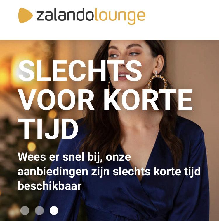 Jack&Jones, vanaf 30 december met korting tot 75% na inloggen in de Zalando Lounge.