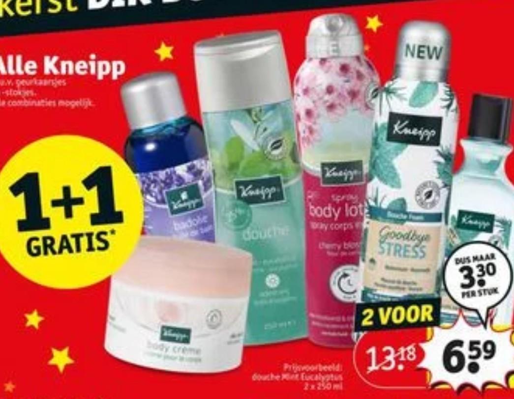 Kneipp 1+1 gratis