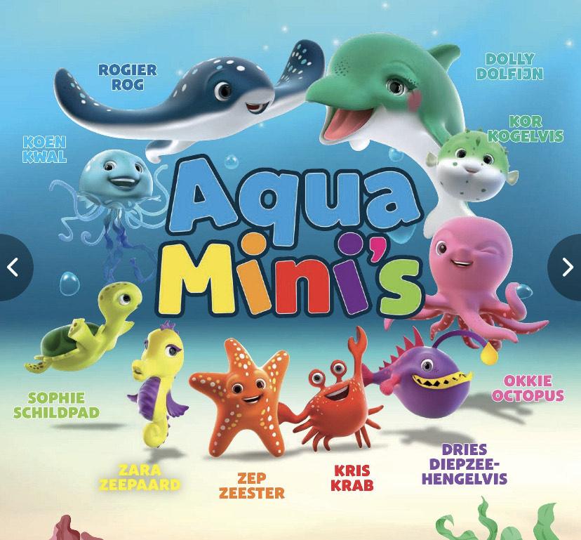 Spaar bij de Lidl voor Aqua Mini's