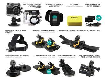 Guardo Action Cam + Accesoires voor maar €99,95