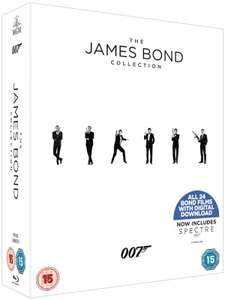 The James Bond Collection (Blu-ray 24 films)