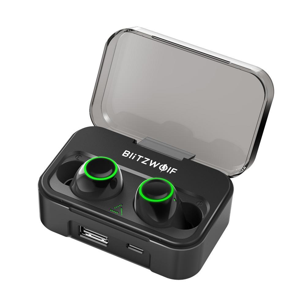 Blitzwolf BW-FYE3 True Wireless bluetooth 5.0 Earphones with powerbank