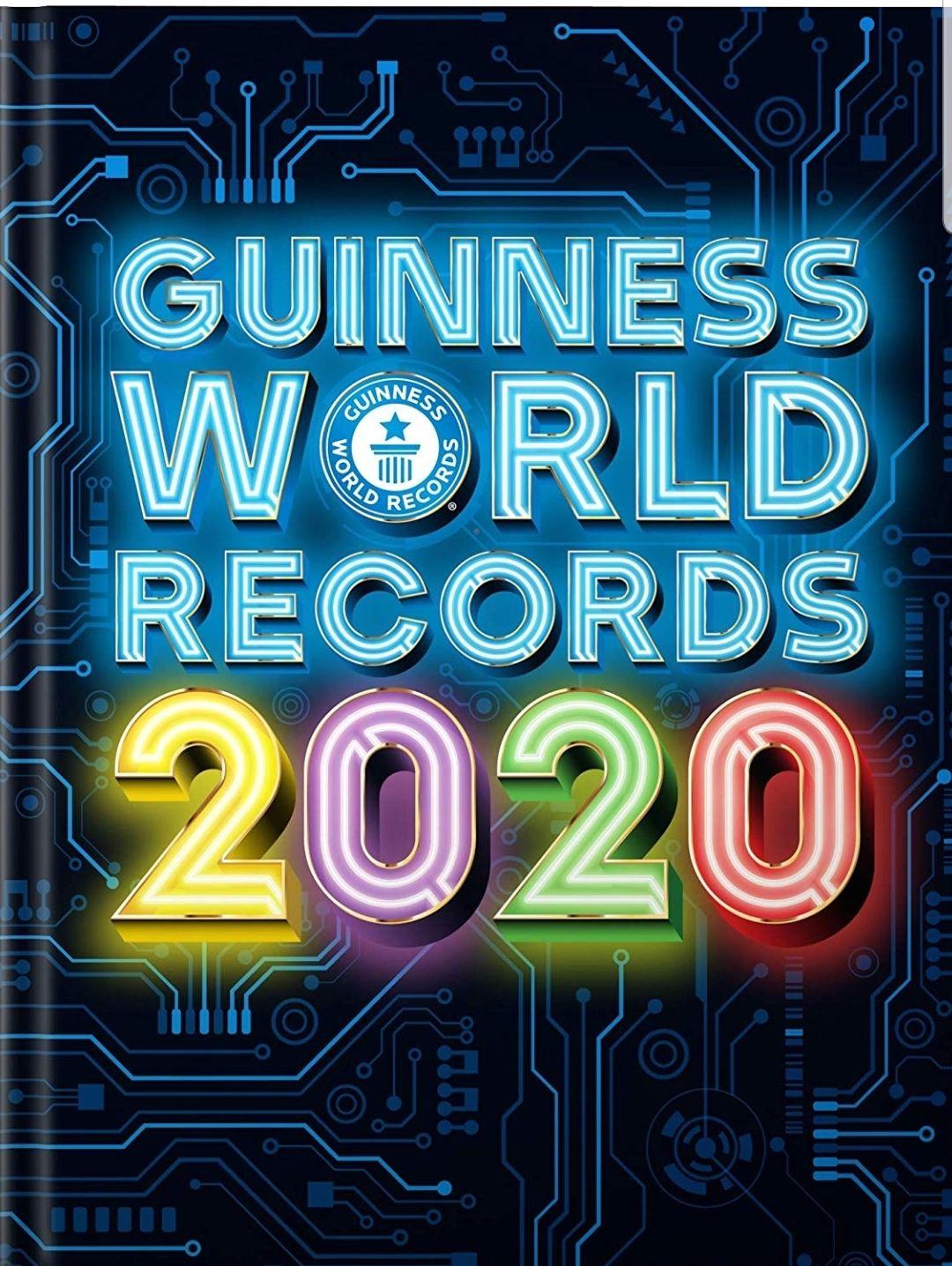Guinness world records 2020 voor maar €9.12 (£7.79) @ Amazon.co.uk