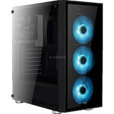 Aerocool Quartz RGB tower-behuizing voor €67,85 @ Alternate.nl