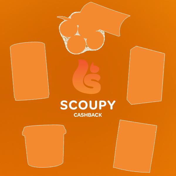 [UPDATE] 5 nieuwe Cashback-producten @ Scoupy