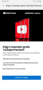 Gratis 2 maanden YouTube Premium @ Samsung Members