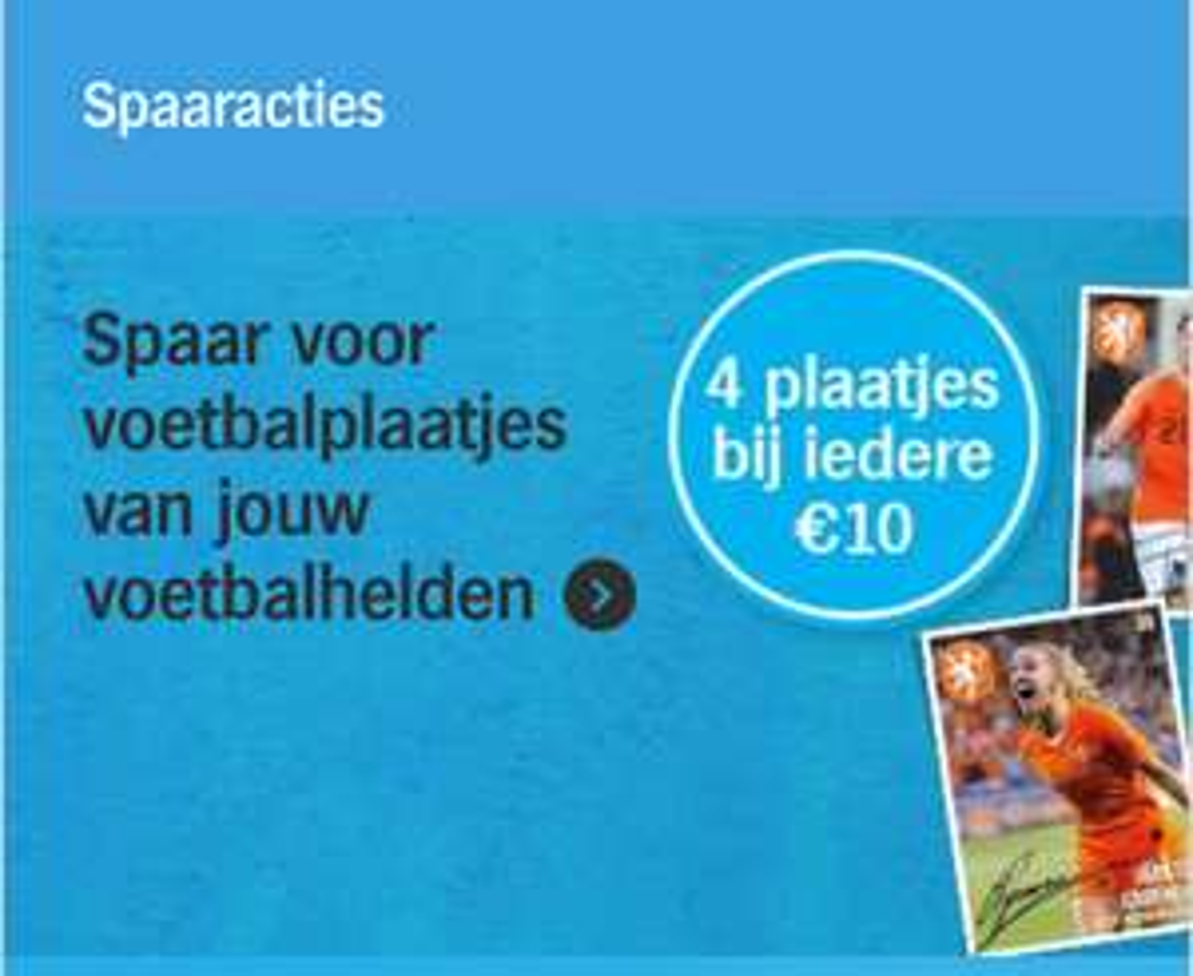 Hamsteren en voetbalplaatjes vanaf 6 januari bij Albert Heijn