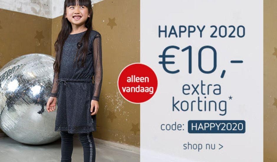 € 10 korting op alles* @ Kleertjes.com