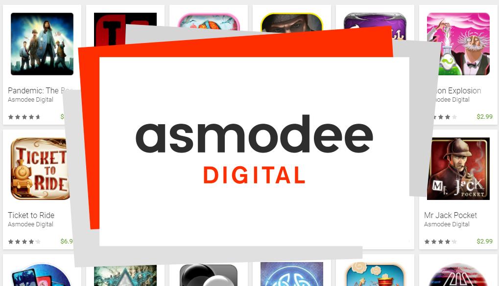 40-70% korting op Asmodee bordspellen/kaartspellen als app @ Google Play Store
