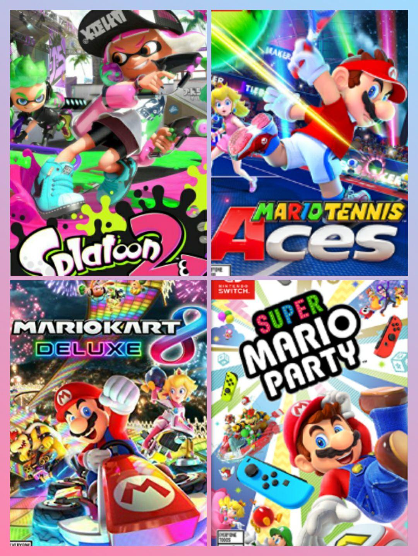 Nintendo Switch games voor 39,99 (o.a. Mario Kart 8, Mario Tennis Aces, Splatoon 2)