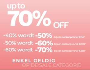 SALE: 50-70% EXTRA korting @ Maison Lab