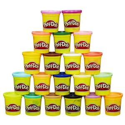 Play-Doh Super Color Pack 20 potjes bij Amazon.de (met prime)