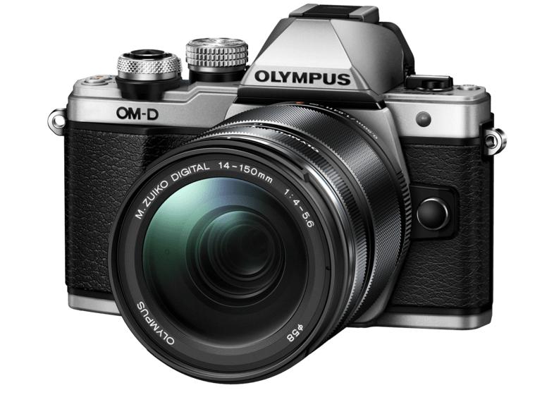 OLYMPUS OM-D E-M10 Mark II Zilver + 14-150mm voor €399 @ MediaMarkt.nl