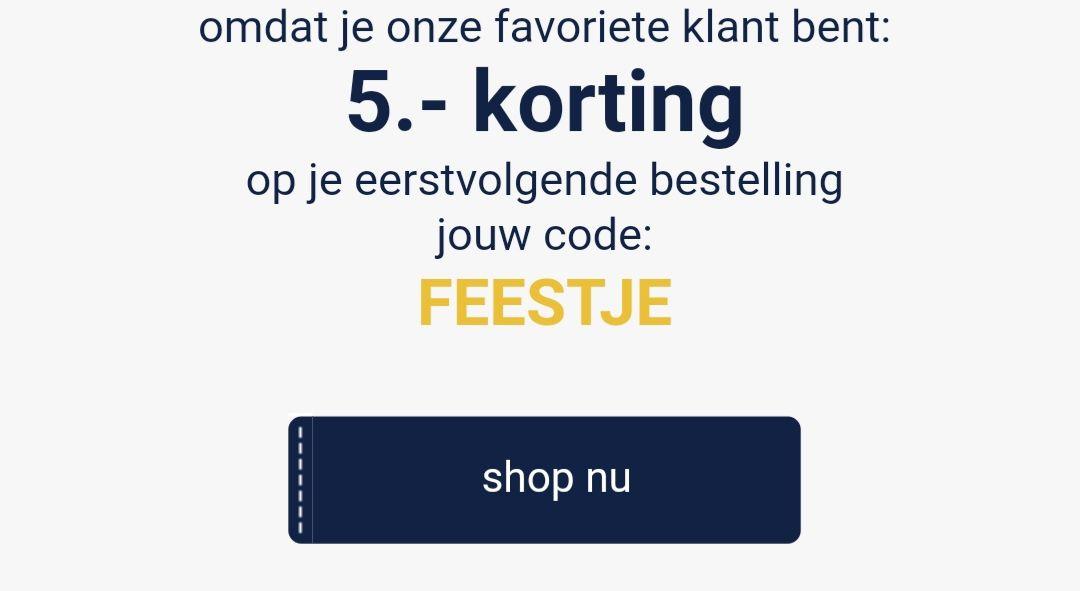 5 euro korting bij besteding vanaf 25 euro @ wehkamp