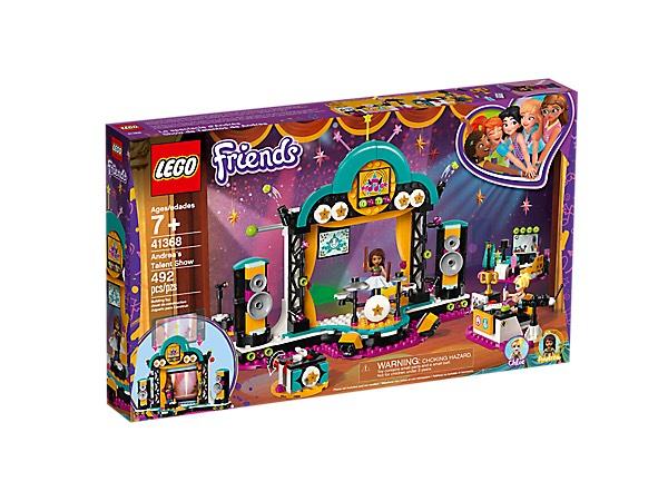 LEGO FRIENDS Andrea's talentenjacht (41368) van 54.99 euro nu voor 32.97 euro