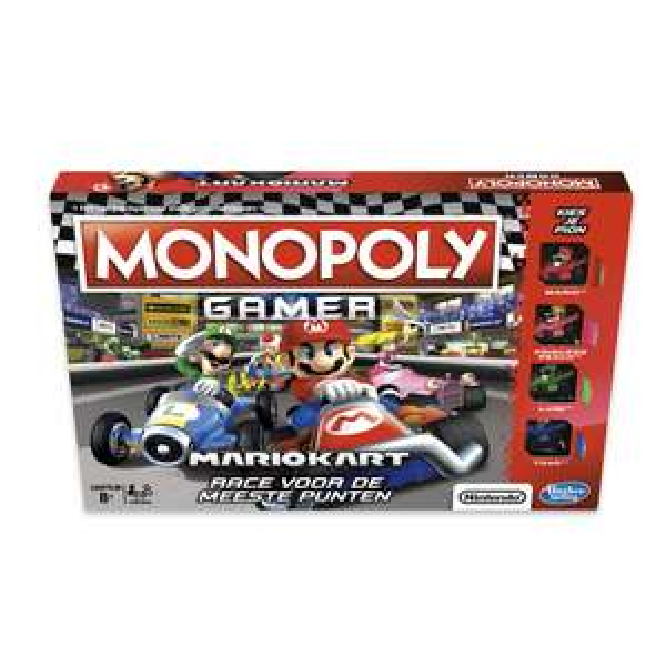Monopoly Gamer Mario Kart 19.98 Intertoys