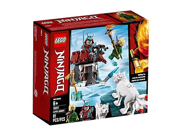 BESTELBAAR bij 20 euro BestelWAARDE - LEGO NINJAGO De reis van Lloyd (70671) van 14.99 nu voor 5.68 euro