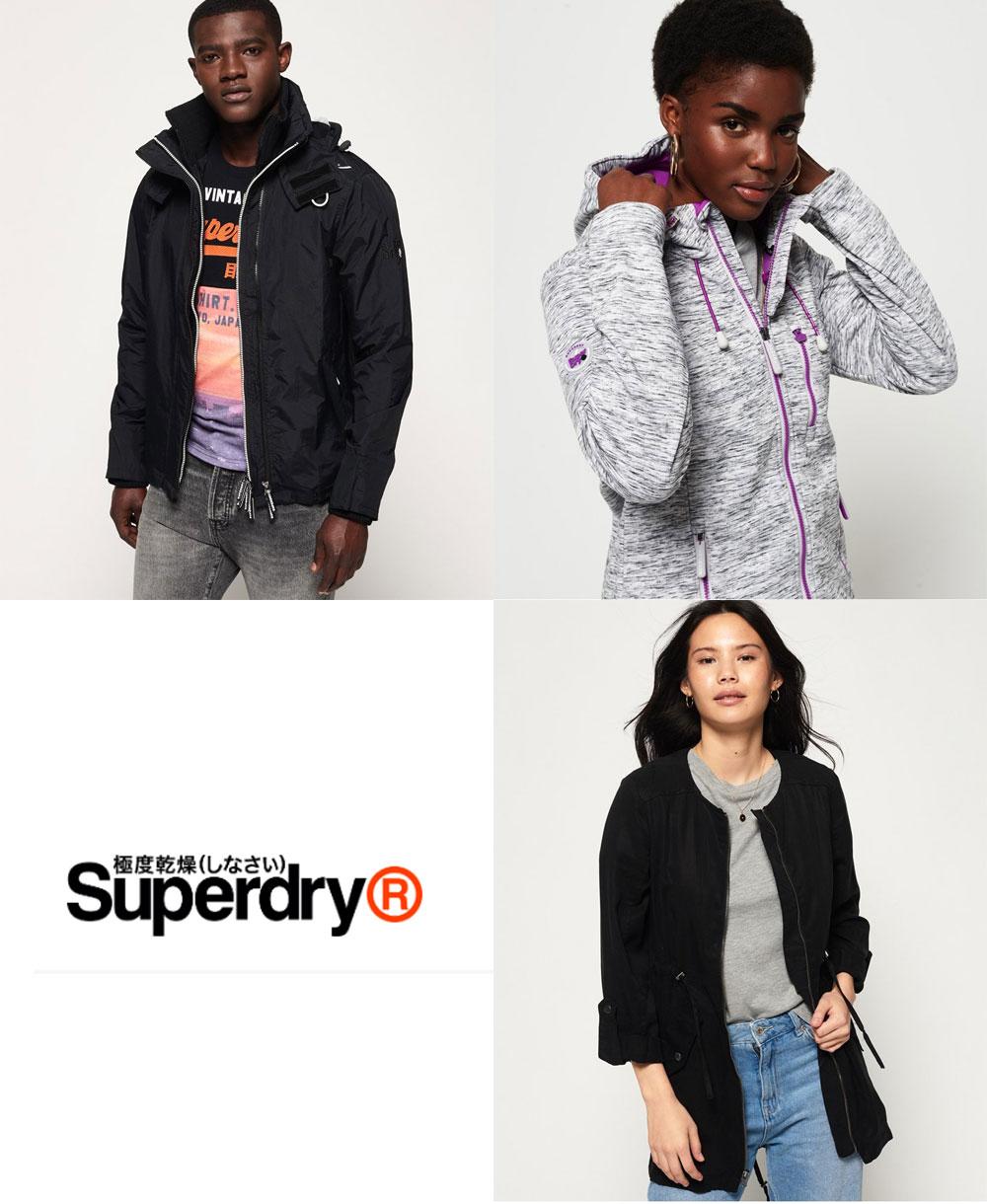 Diverse jassen hoge korting - al va €19,25 @ Superdry