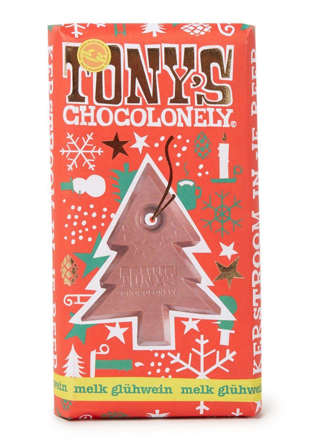 Kerst chocolade (O.a. Tony's Chocolonely) 50% bij de Bijenkorf