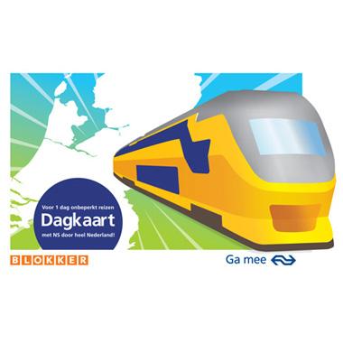 NS Dagkaart (Dal Vrij) voor € 14,95 @ Blokker