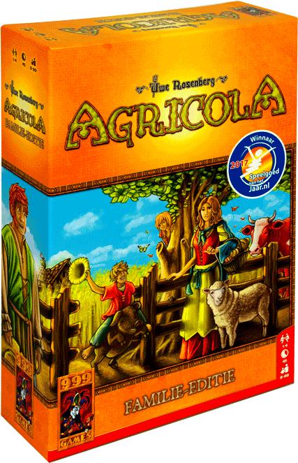 999 Games Agricola Familie editie @boekenvoordeel