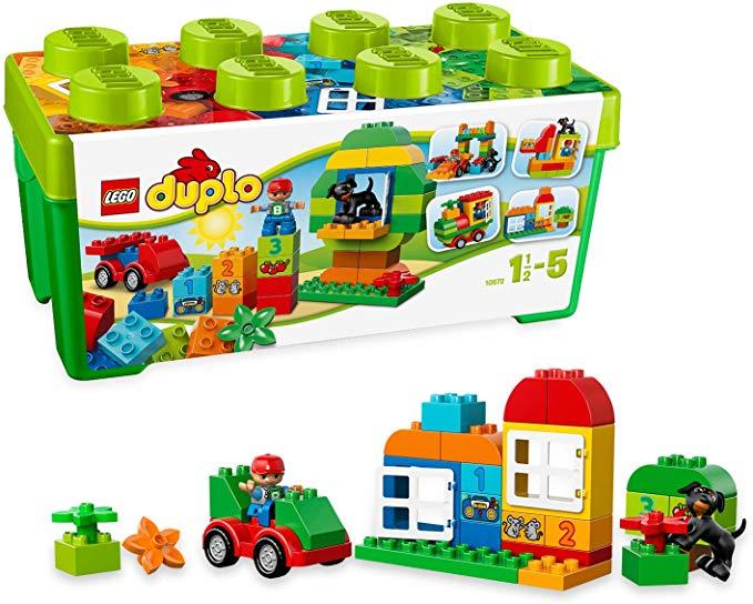 LEGO DUPLO 10572 Alles-in-een-doos aanbieding bij Amazon