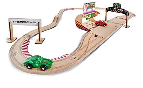 Eichhorn Porsche houten racebaan voor €22,76 @ Amazon.de