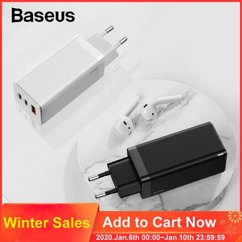Baseus 65W USB-C oplader (AliExpress)