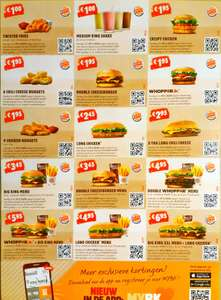 Coupons @ Burger King