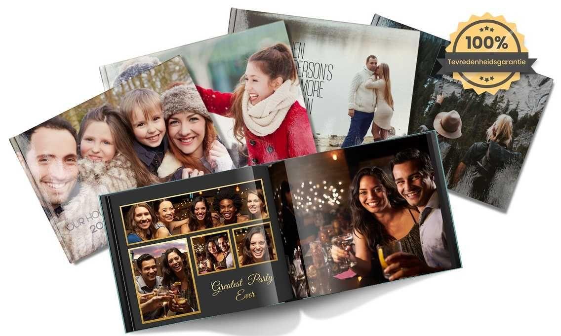 Printerpix fotoboek met 90% korting