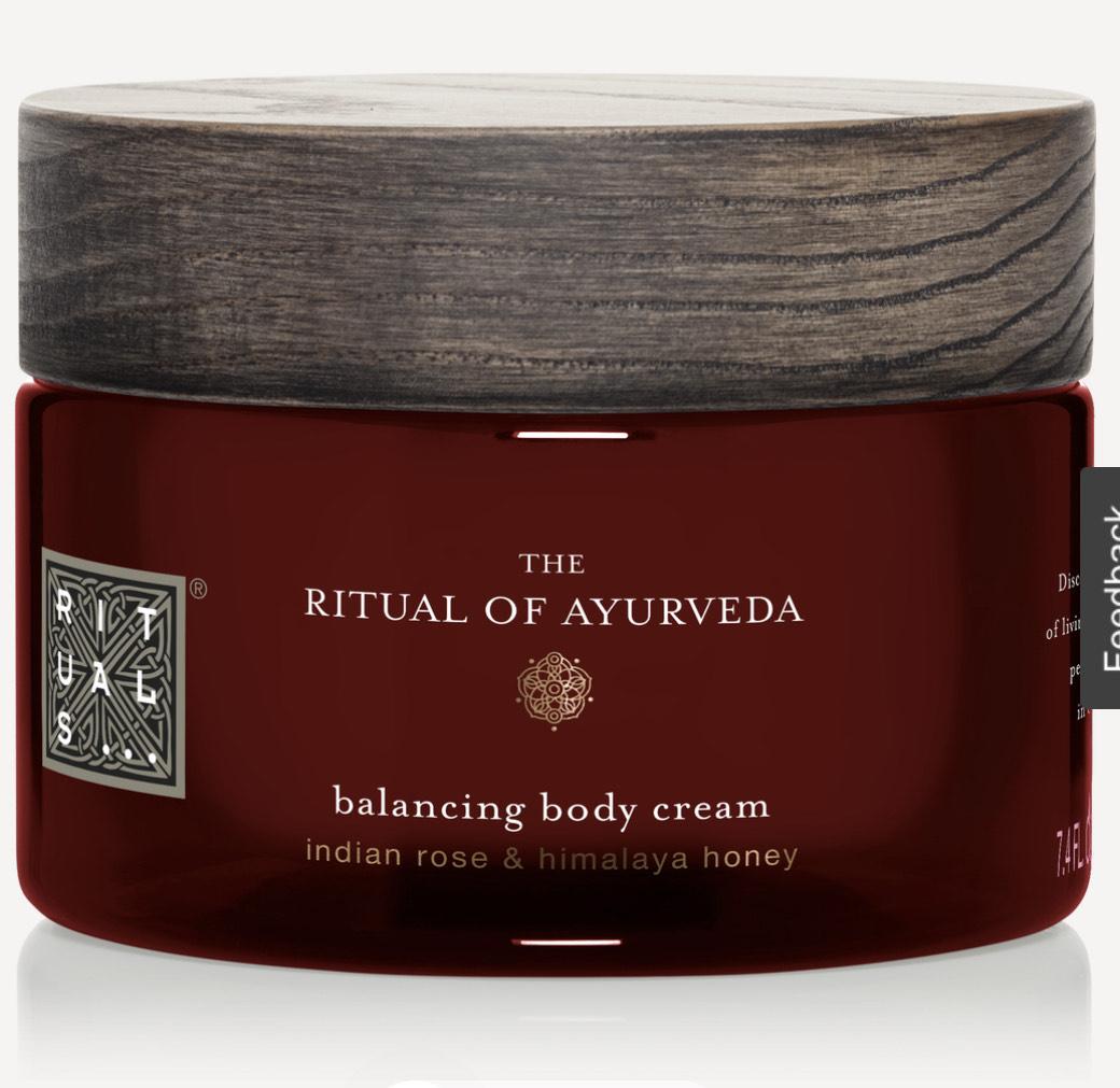 THE RITUALS OF AYURVEDA: Body Cream + GRATIS Cadeaupapier [Wehkamp]